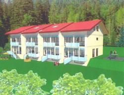 Villa A et D de 147 m² habitable ,,Villa B et C de 150 m² habitable ,,Livraison mars 2005,,Garage 30 000.-,Parking 8 000.-...